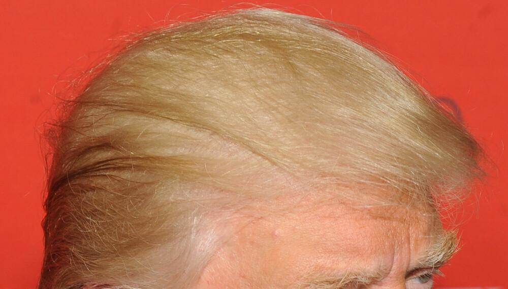 NEI: Ikke gjør som Donald Trump dersom manken begynner å minke. Ta deg en tur til frisøren for å få en kort, fresh frisyre.