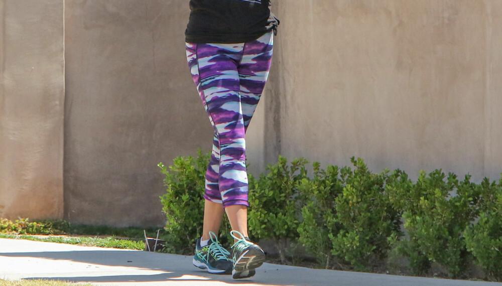 4d86b586 TRENINGSTIGHTS: Med tightsen på, er du alltid klar for en treningsøkt. I  denne