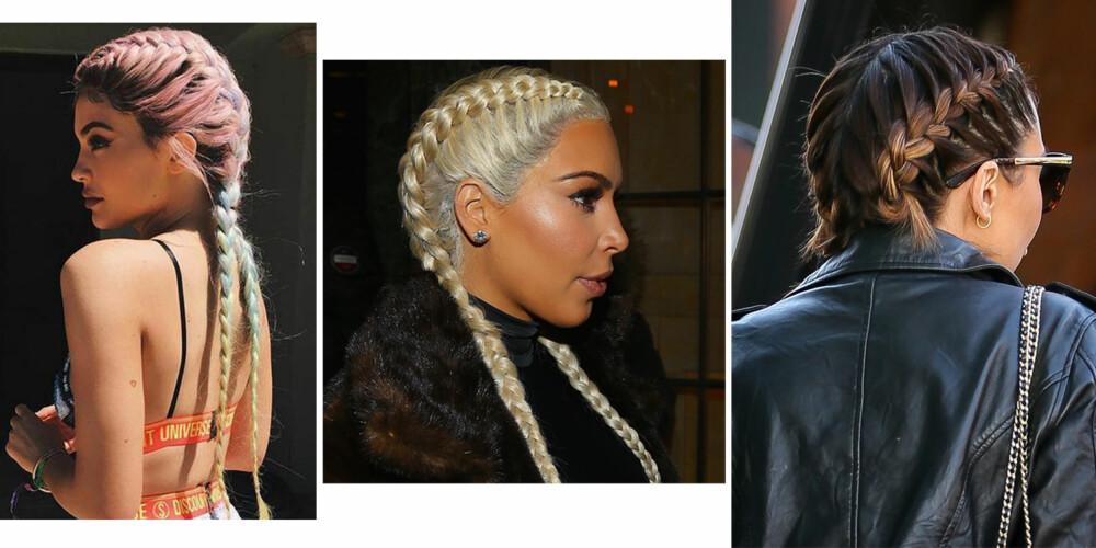 FLETTETREND: Du har sikkert sett denne frisyren i sommer. Og den ser ut til å vare... ILLUSTRASJONSFOTO: Stella Pictures