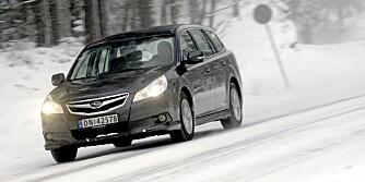 KONSTANT 4x4: Subaru er en av få produsenter som ikke bruker et system som kun overfører krefter til bakhjulene ved behov.