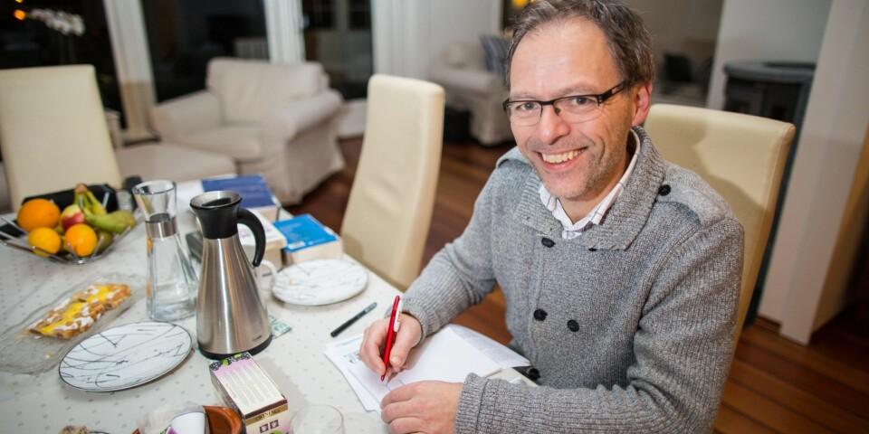 Jan-Tore Stien er en av landets mest erfarne og mest brukte kryssordforfattere.