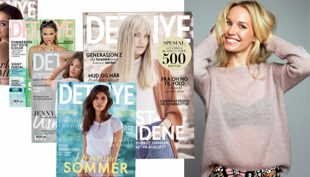VIL HA DINE INNSPILL: Det Nyes redaktør Karine Thyness ser etter deg som liker magasiner, setter pris på god journalistikk og har teft for hva som er interessant, morsomt og viktig innhold for unge kvinner.