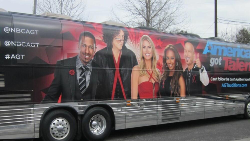 KJENDISER: Bussene leies for en stor del ut til kjendis-relaterte virksomheter.