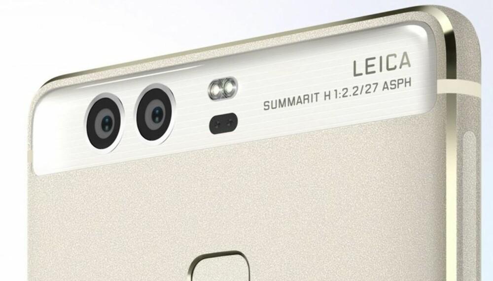 BEDRE BILDER: Huawei tar i bruk to linser for å få bedre bilder på årets toppmodell, Huawei P9.