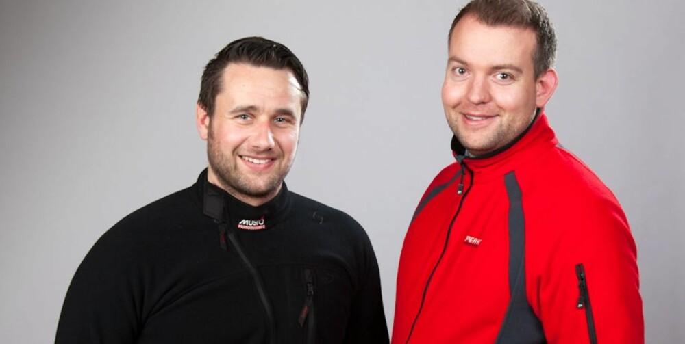 PENSUM: Tor-Anders Puck og Eirik Skare (f.v.) står bak det nye pensumet hos Båtførerprøven.com AS. begge utdannet ved Befalsskolen for Marinen og Sjøkrigsskolen i Bergen. De har begge lang erfaring innen navigasjon, sikkerhet og sjømannskap.