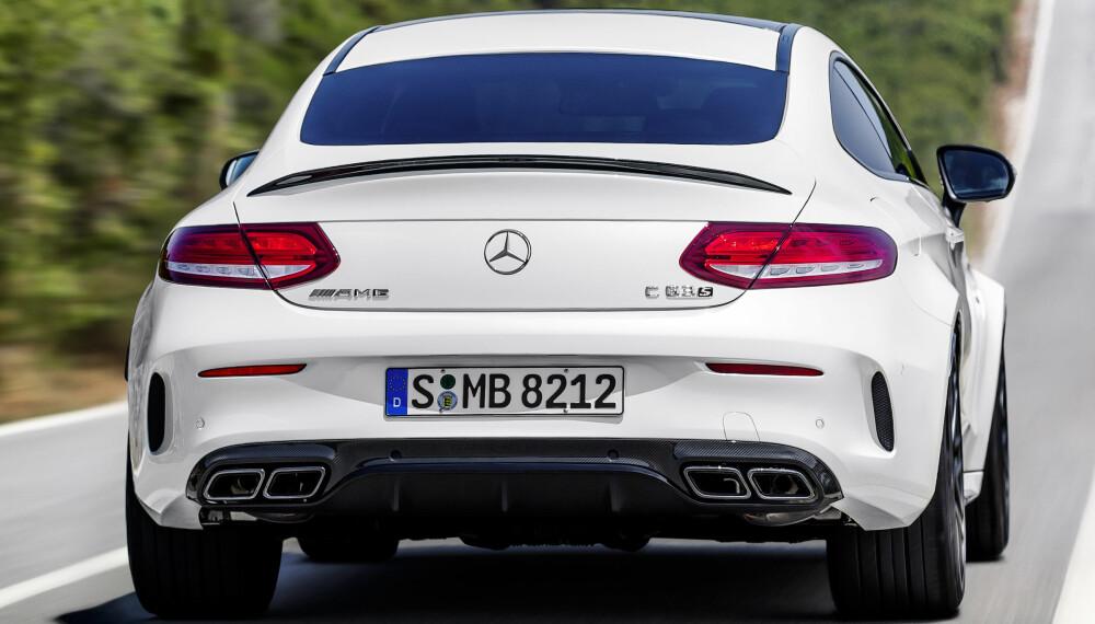 AMG: Vi har prøvekjørt Mercedes-AMG C63 S Coupe. FOTO: Daimler AG