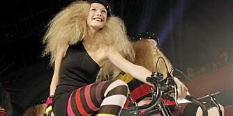 STRIKKEKOLLEKSJON: Sonia Rykiel sin vårkolleksjon for HogM vil bestå av strikkeplagg og accessoirer.