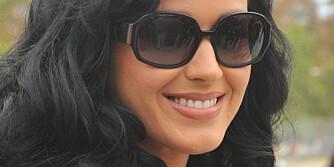 SELVSIKKER PÅ SEX: Katy Perry er ikke i tvil om at hennes nyervervede ektemann, Russell Brand, er tilfreds med henne i sengen.