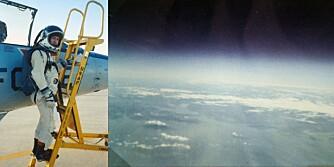Bodø fra 74 000 fot  Starfighter høyderekord