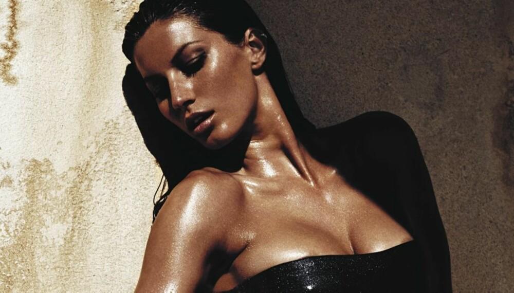 GODT BETALT: Gisele Bündchen tjener bra på modellkarriere - og på sandaler.