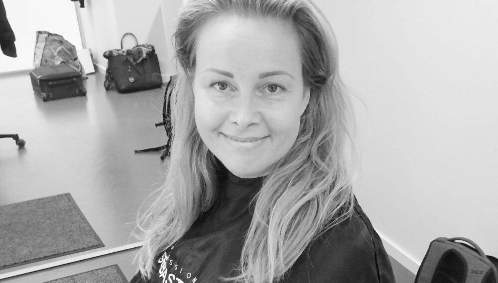 FØR: Slik så Anne Mette (40) ut før Kamille sitt makeover-team begynte å trylle.