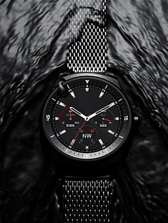 VANNTETT: LG G Watch R er både støv- og vanntett i hennhold til IP67-klassifiseringen.