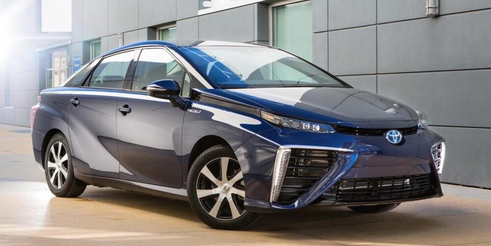 ROMSKIPET: Toyota Mirai lanseres på det japanske markedet i midten av desember, men vil ikke lanseres i Europa før september 2015.