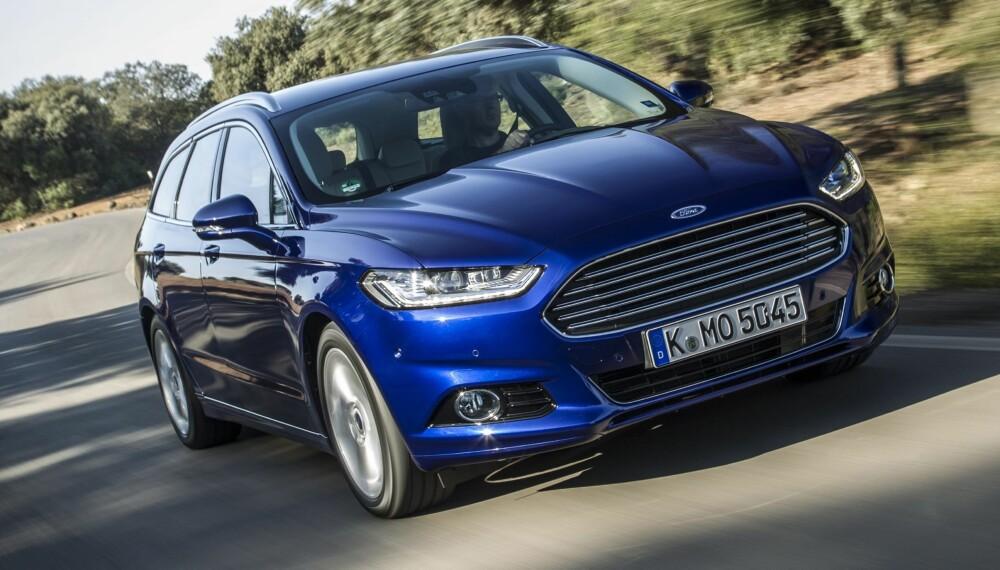 4WD: Endelig kommer Ford Mondeo med firehjulsdrift. Priser virker gunstig. FOTO: Ford