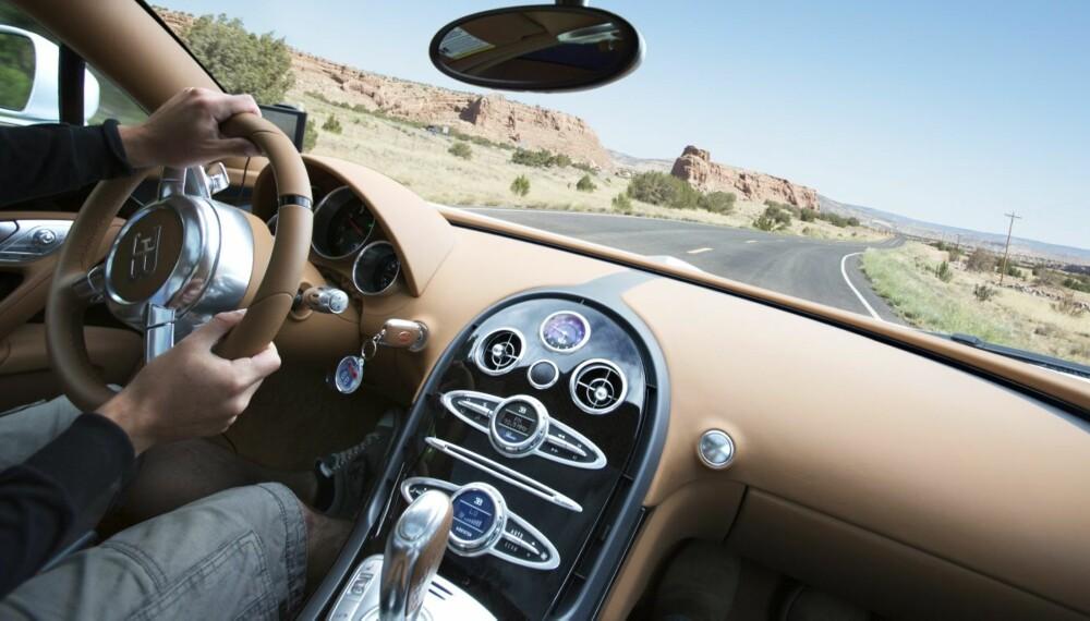 SUPERBIL: Bugatti Veyron, den supreste av de supre. FOTO: TopGear