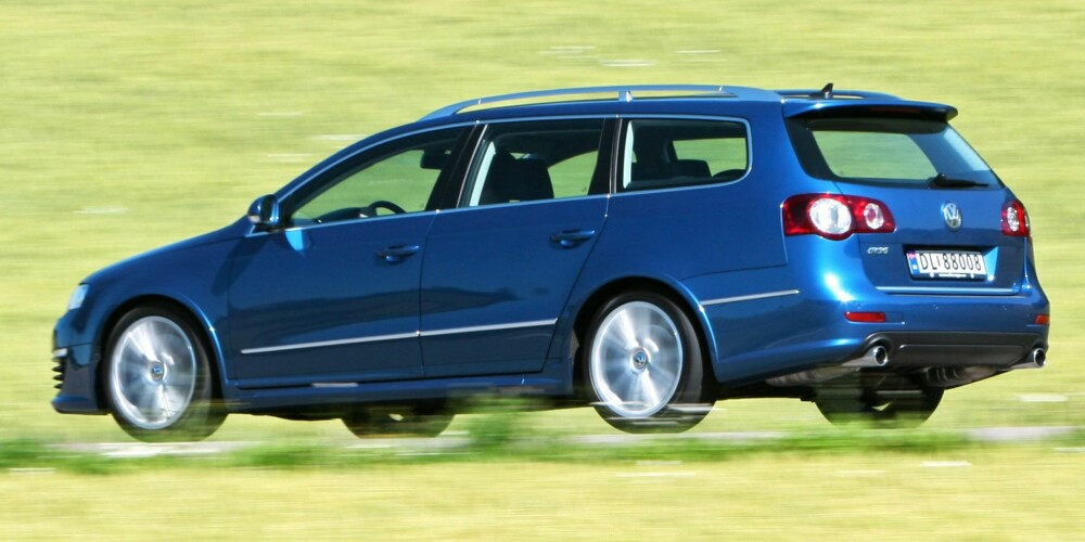 VW Passat R36 2008. FOTO: Egmont