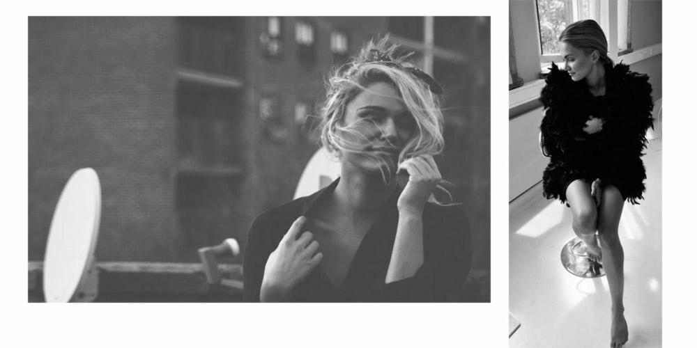 MOSS THE BOSS: Sela Hoel ser opp til supermodell Kate Moss og stilikon Mary Kate Olsen.