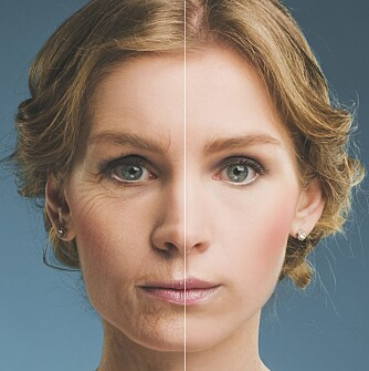 BRUK SPF: Beskytter du huden mot UBA- og UVA-stålene hver dag, vil du se yngre ut enn de som ikke gjør det.