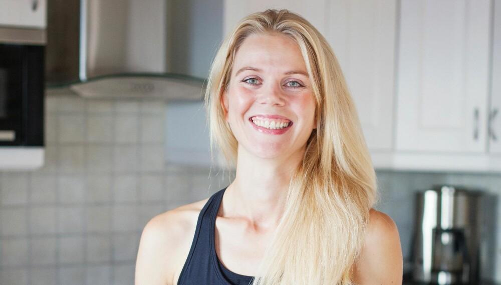 ENDRET MATVANER: Hilde Valbjørn Hagelin (35) gikk fra å være en slapp og utrent veggis med lave blodverdier til å få mer energi.