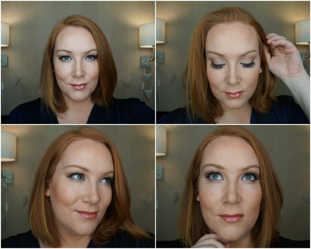 SISTE FINISH: Ingen Adele-sminke er hel uten massive falske vipper, og fyldige lepper!