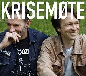 PODCAST-SUKSESS: «Krisemøte» er suksesspodcasten Kristopher har med Kyrre Holm Tønne Johannessen. Nå kan du snart SE podcasten også på TV 2 Humor.