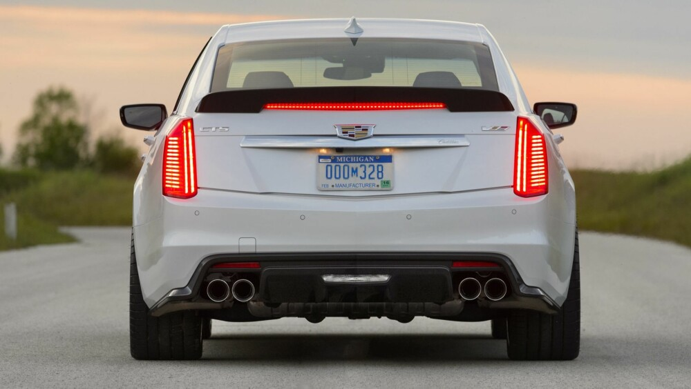 MODUS: CTS-V har forskjellige kjøremodus som tilpasser bilens styring, gassrespons, demping og ESP etter forholdene.
