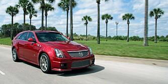 Cadillac CTS V USA 2012