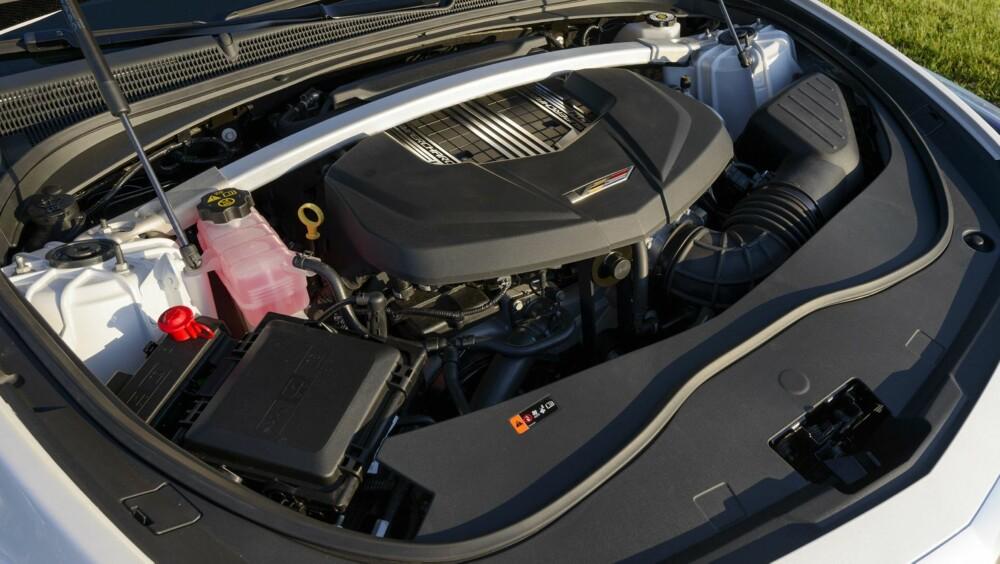 SUPER-CADDY: Motoren er kompressormatet 6,2-liters LT4 V8-er fra Chevrolet Corvette Z06.