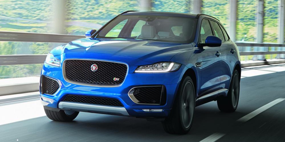 SUV: Jaguar F-Pace. FOTO: Produsent