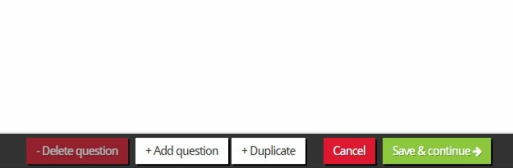 FLERE SPØRSMÅL: Du kan både legge til og slette spørsmål i Kahoot.