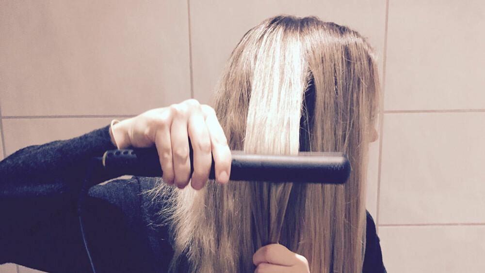 REPETISJON: Tangen skal være god nok til at du ikke behøver å gå over samme hår-passé flere ganger når du retter.