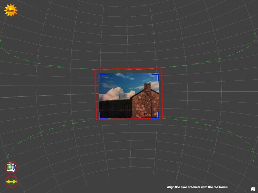 360-APP: Panorama 360 er egentlig ment for å lage såkalte 360-bilder, men kan også brukes til å lage panorama eller vidvinkelbilder.