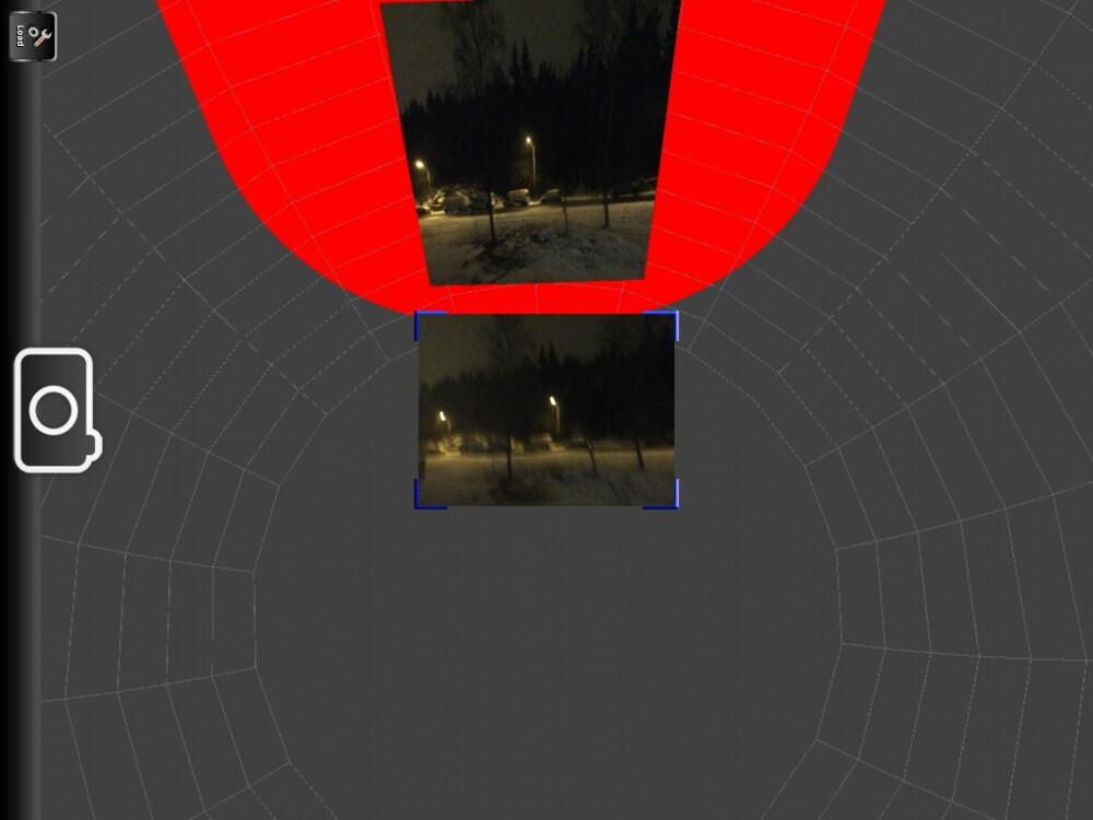 STIFT SAMMEN: Auto Stitch Pic er en iOS-app som skal la deg ta panorama og vidvinkelbilder. Vi syntes ikke den funksjonen fungerte så bra, men har du allerede tatt flere overlappende bilder kan denne appen hjelpe deg å sette dem sammen.