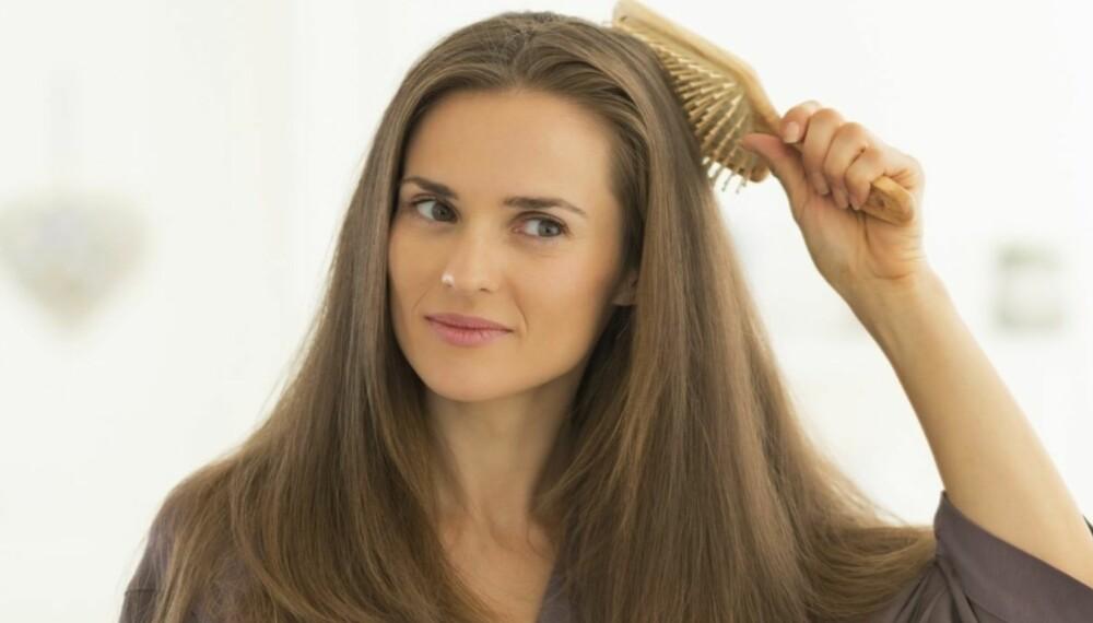 HVORDAN BØRSTE HÅRET: Sjansen er stor for at du har børstet håret ditt feil hele livet.