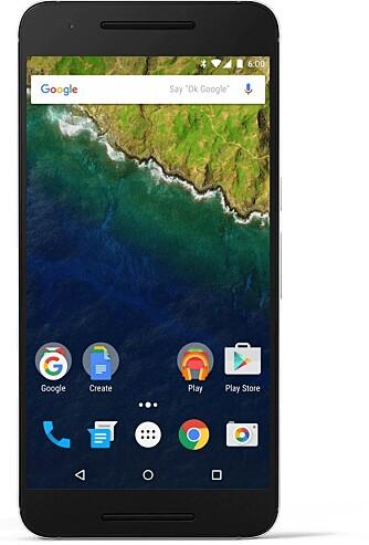 SKARP: En skjermstørrelse på 5,7 tommer og en oppløsning på 2560 x 1440 piksler resulterer i 518 piksler pr. tomme.