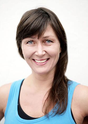 GRUNNLEGGEREN AV CATSLIDE: Christina Støle Therkildsen er grunnleggeren av treningskonseptet Catslide. Hun har drevet sitt eget treningssenter i 10 år, og jobber som kursholder, foredragsholder og gruppeinstruktør. I tillegg er hun håndballtrener, og bruker ofte Catslides på treningene sine.