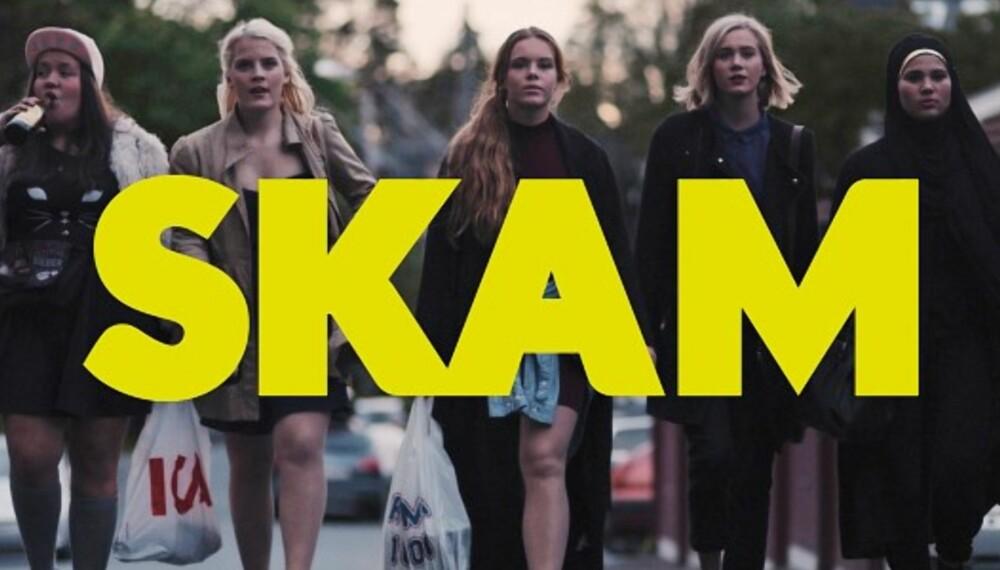 «SKAM»: Ina Svenningsdal (Chris), Ulrikke Falch (Vilde), Lisa Teige (Eva), Josefine Frida Pettersen (Noora) og Iman Meskini (Sana).