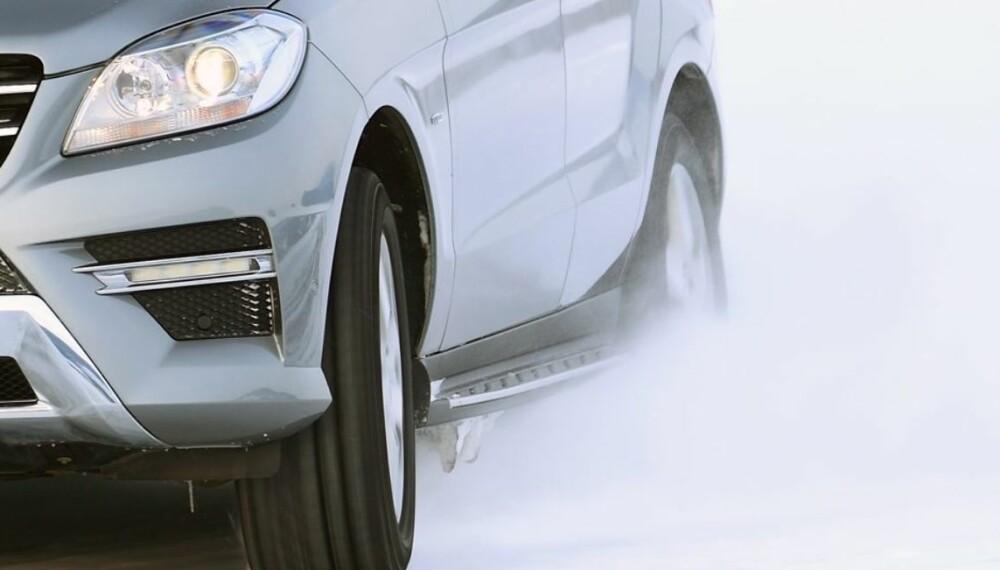 BESTE SUV: I Dekras kvalitetsrapport kaprer Mercedes-Benz fire av åtte klasseseire. ML er ifølge Dekra det beste brukt-SUV-valget fra 2011.