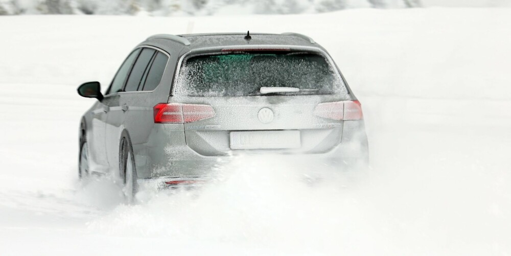KJØRER BRA: Bedre styringssystemer og raskere inngrep gjør at firehjulsdriftssystemet påvirker kjøreegenskapene i positiv retning.
