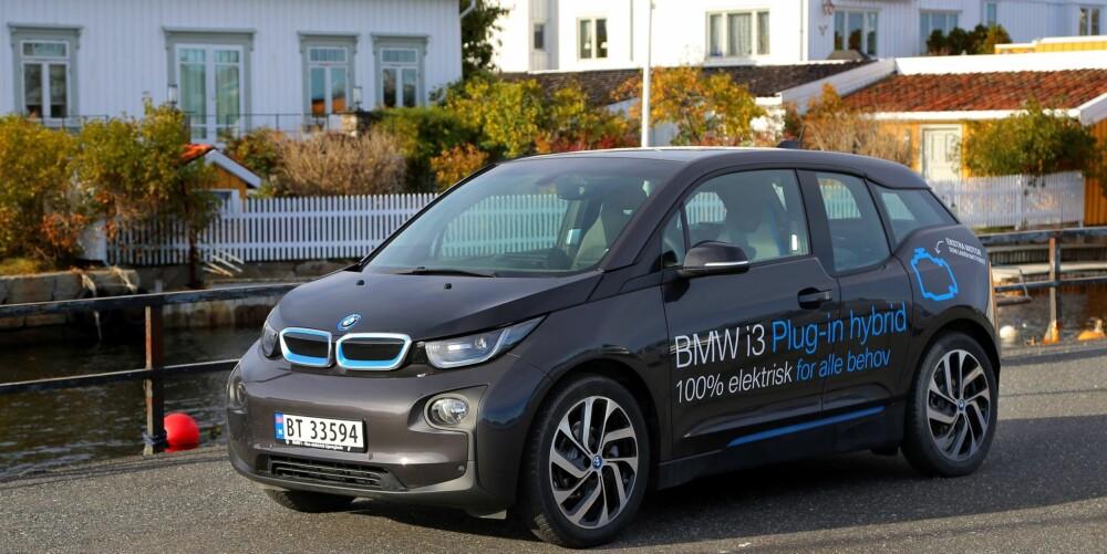 BMW i3 Plug-in hybrid