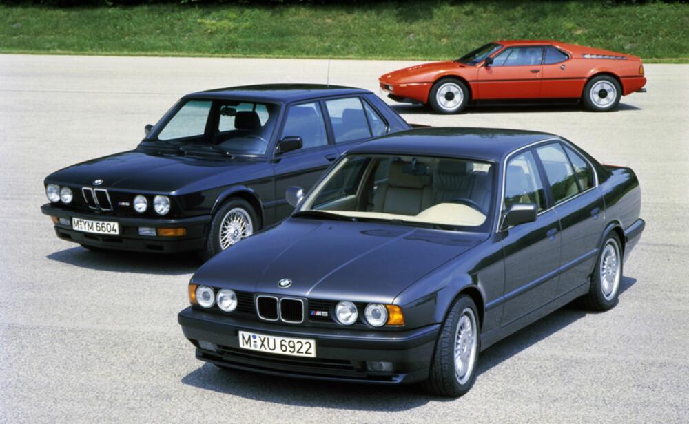 FØRST UT: M1 var den første midtmotorbilen BMW produserte. Den fantastiske rekkesekseren levde videre i blant annet M 635 CSi og den første BMW M5.