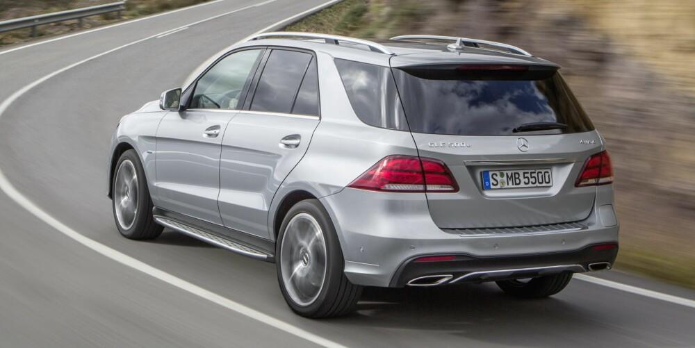 KUPP: Prisene på den ladbare versjon som yter kraftfulle 442 hk og 650 Nm starter i underkant av én million kroner. Det er nærmest et kupp i Norge med tanke på ytelsene. FOTO: Daimler AG