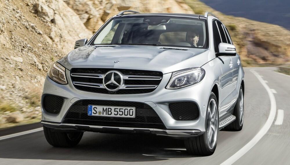 SUV: Vi har prøvekjørt Mercedes GLE som ersatter ML. FOTO: Daimler AG