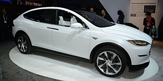 TESLA-SUV: Model X. FOTO: Newspress