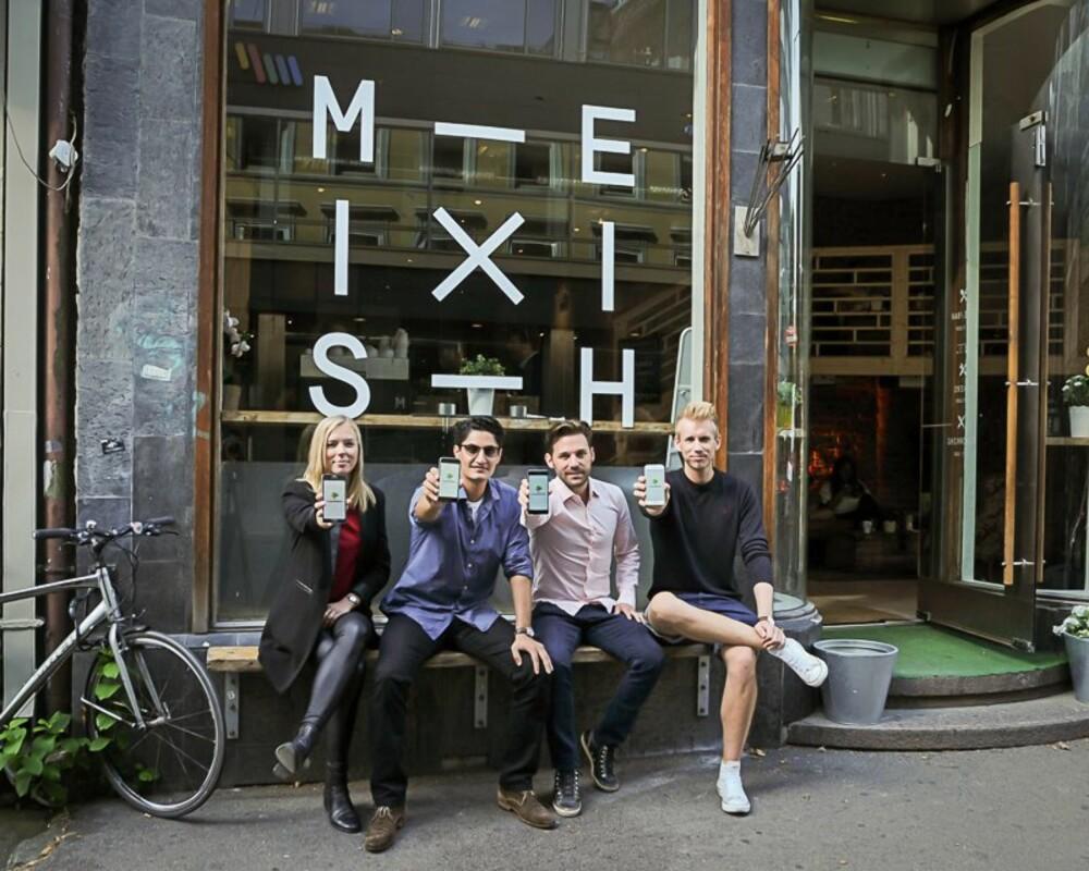 INNOVASJON: LunchFarm holder til i lokalene til Mesh, mens maten produseres av firmaet Dønn Ærlig Catering.
