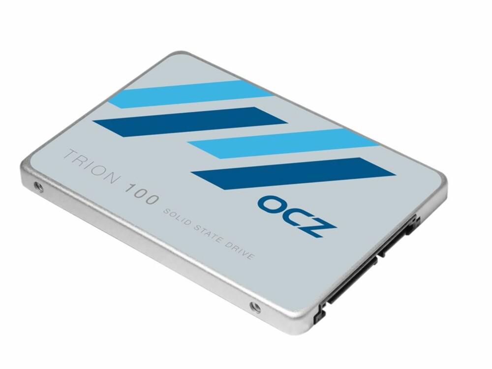 KJENT OG KJÆR: Den vanlige SATA3-baserte SSD-en er blitt veldig populær, og prisene er blitt svært overkommelige. Denne på 480 GB fra OCZ går for rundt 1400 kroner.