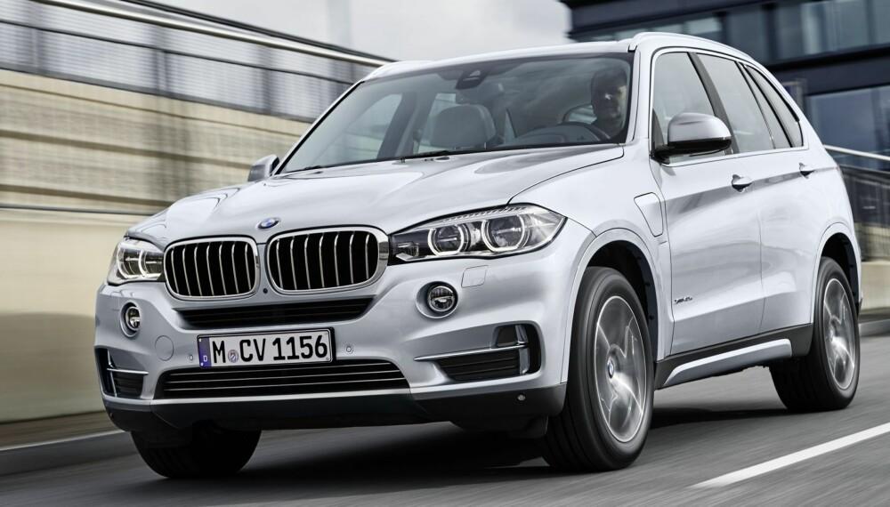 LADBAR SUV: Den ladbare versjonen av BMW X5 kommer i oktober. FOTO: BMW