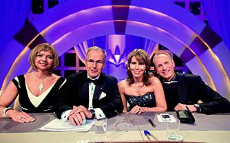 Danse-dommer: Christer var dommer i «Skal vi danse» på TV 2 i syv år. Her er han sammen med meddommerne Trine Dehli Cleve, Tor Fløysvik og Karianne Gulliksen.