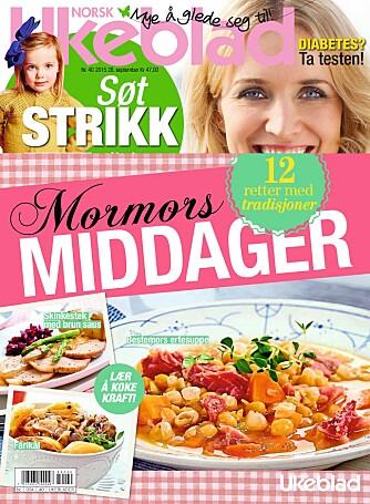 MORMORS MIDDAGER: 12 deilige, tradisjonelle retter fra det norske kjøkken finner du i bilaget, som følger med Norsk Ukeblad nr 40.