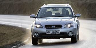 GOD VINTERBIL: Subaru Outback holder seg bra som bruktbil, og leverer gode egenskaper på vinterføre.
